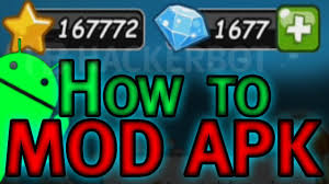 how to make your own apk mods for android games modded apk tutorial