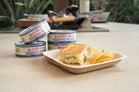 ble bee recipes grilled cheese with albacore tuna