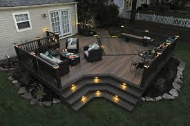 backyard deck design ideas.  Design Deck Plans Designs Ideas Outdoor Living TimberTech With Backyard Design L