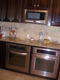 I like this idea of double ovens better then stacking them if you have the  room.   Dream Kitchen   Pinterest   Oven, Double oven kitchen and Kitchen  corner
