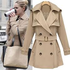 trench coat for women style