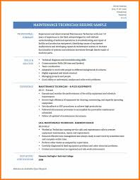 Facility Maintenance Resume Examples Best of Mechanic Resume Example Auto Examples For Professional Or Entry