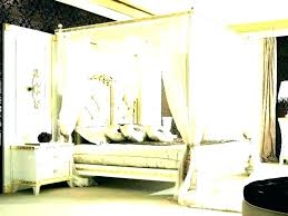 Black Wood Canopy Bed Frame Cheap Blackout Cot – tartecupcakery