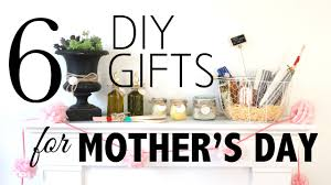 6 diy gifts for mother s day