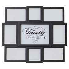 Family Sentiment 8 Opening Collage Hanging Picture Frame