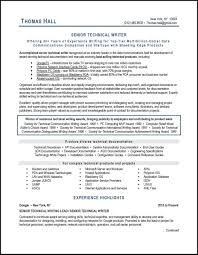 Technical Writer Resume Examples Examples Of Resumes