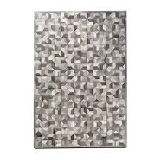 quarter leather rug interesting ideas design