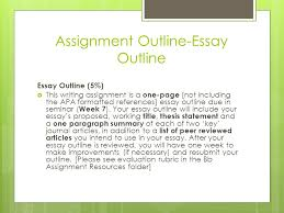 how to write an essay outline ppt assignment outline essay outline