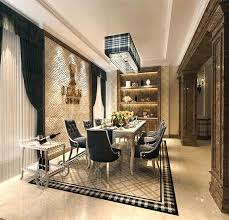luxury dining room sets marble. Expensive Dining Room Table Black Marble With Beautiful Two Hanging Luxurious House White Floor Tile Manufacturer Luxury Sets