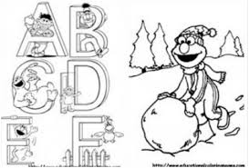 Small Picture 11 Images Of Elmo Abc Coloring Pages Sesame Street Alphabet