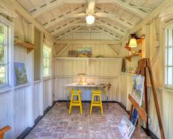 she sheds backyard art studio art