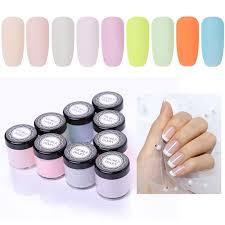 whole 9 boxes nail dip powder set 10ml dipping french powder diy grant nails no need cure manicure nail chrome glitter