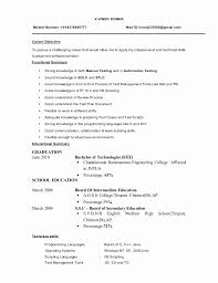 43 New Photograph Of Sample Resume format for Freshers software Engineers