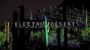 Desert Botanical Garden Light Display Sneak Peek Electric Desert At Desert Botanical Garden