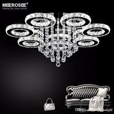 modern chandelier light fixture led ceiling light lighting crystal flush mounted lamp dining lighting drop lamp led home fitting cream chandelier flower