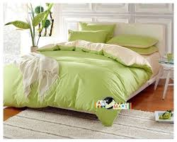 light green comforter holiday free light green and beige cotton contrast color bedding set