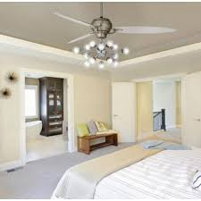 Elegant Bedroom Ceiling Fans Pertaining To Chic And Sculptural Black
