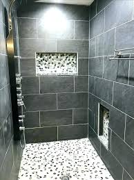 gray shower tile bathroom shower tile ideas grey gray shower tile ideas best bathroom pebble and