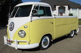 1960 VW Single Cab Pickup | The 60's | Volkswagen bus camper ...