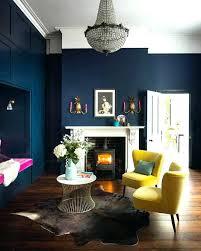dark blue living room navy ideas wall rooms n8
