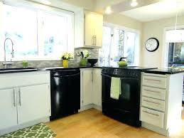 kitchen ideas white cabinets black appliances. How To Decorate A Kitchen With Black Appliances White Cabinets Ideas C