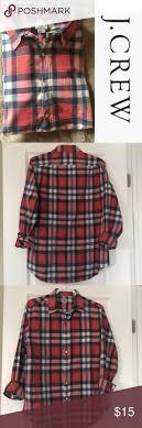 J Crew Sweater Size Chart J Crew Plaid Lightweight Shirt J Crew Plaid Lightweight