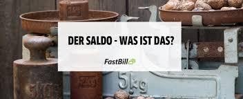 Saldo Com Der Saldo Die Differenz Zwischen Soll Und Haben Fastbill Lexikon