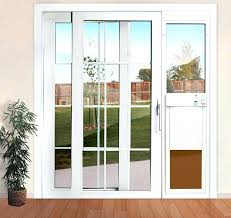 beautiful sliding patio dog door glass insert