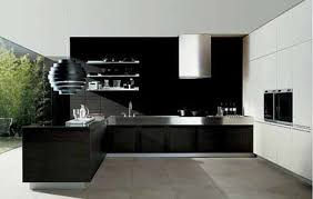 Modern Black Kitchen Cabinets Black Kitchen 1 Country Living Black Kitchens Black Kitchen