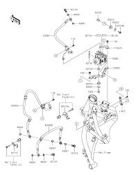 2017 kawasaki z650 abs er650hhf brake piping parts best oem brake