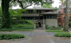 Wright Home Designs Frank Lloyd Wrights Oak Park Illinois Designs The Prairie