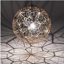 modern pendant lamps round ball silver gold copper hanging pendant lights fixture hotel cafes pub bar home indoor lighting restaurant lamp large ceiling