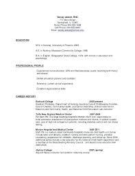 Postpartum Rn Resume