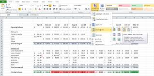 Cash Flow Calculation Excel How To Build An Excel Cash Flow Forecast Accountingweb