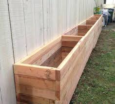 large wood planter boxes awesome wooden planters for outside ideas build box step long barrel uk