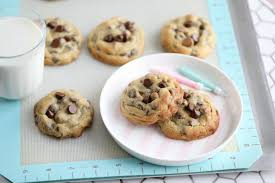 chocolate chip cookies and milk. Unique And I Love Chocolate Chip Cookies A Warm Cookie And A Glass Of  Milk Who Can Resist That My Children They Their  Intended Chocolate Chip Cookies And Milk
