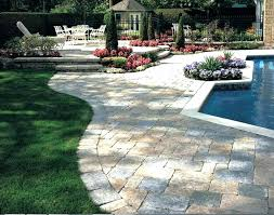 stamped concrete patio with fire pit cost. Backyard Stamped Concrete Patio With Fire Pit Cost