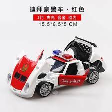 Car-induced simulation Rambo alloy <b>Dubai police</b> car model ...