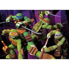 nickelodeon teenage mutant ninja turtles 12 x 6 kids rug multi colour only