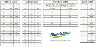 Blundstone Fit Chart Fitness And Workout