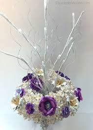Paper Flower Branches Diy Paper Flower Centerpiece Plucking Daisies