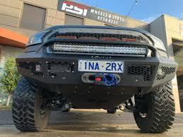 Winch Bar Designs Ford Ranger Raptor Scorpion 4x4 Front Bull Bar