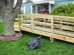 how to build a temporary wheelchair ramp universal design for accessible homes