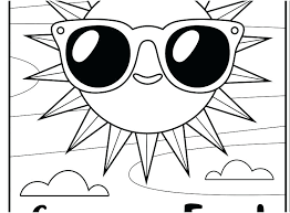 Coloring Pages For Kids Summer Free Summertime Coloring Pages Summer