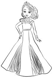 Evie Descendants Drawing At Getdrawingscom Free For Personal Use