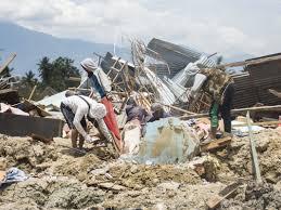 A 7.3 earthquake has hit indonesia, on halmahera island. Survivors Recall Deadly Earthquake And Tsunami In Indonesia Npr