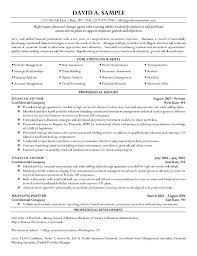 financial advisor resume sample best sample resumes template financial advisor resume sample best sample resumes