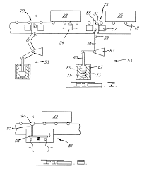 patent us6705454 accumulating power roll conveyor system patent drawing