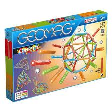 <b>Магнитный конструктор GEOMAG</b> 354 <b>Confetti</b> 127 деталей ...