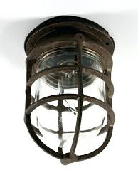 wire cage light fixtures pen2page for industrial fixture ideas industrial cage light fixture61